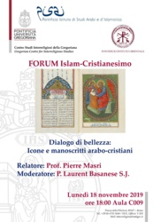 Dialogo di bellezza: Icone e manoscritti arabo-cristiani